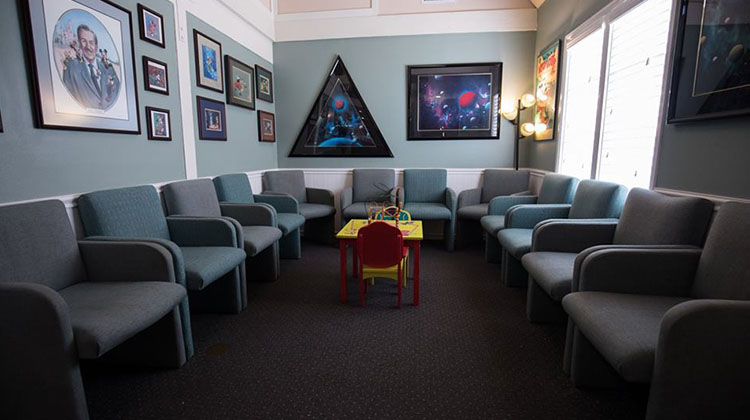Waiting Room of Chiropractor's Office - Anaheim, CA